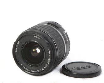 Canon EF-S 18-55mm II zoom lens for digital EOS cameras