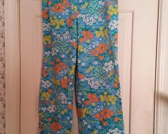 Vintage Orson Floral Pants Size 16, Excellent condituin