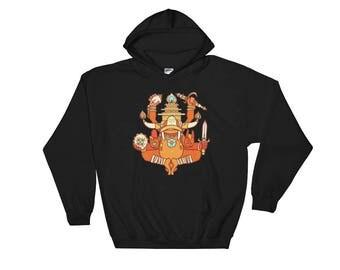 FYROG Fourth Evolution -Hooded Sweatshirt