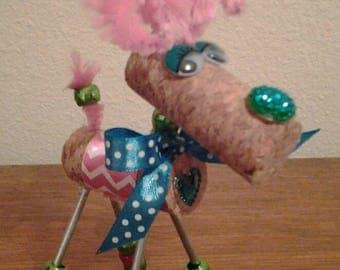 Cork Deer - Reindeer - Wine Cork Decoration - Diva Doe - Buck - Elk - Hunter Gift- Wine Cork Deer - Cute Doe - Cork Animal - Hunting Season