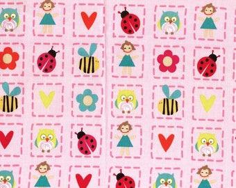 Tissu coton pour enfants Riley Blake pour loisirs créatifs et patchwork