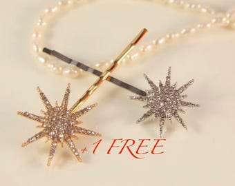 Star Headpiece Star Hair Comb Great Gatsby Head Piece Silver Hair Pin Wedding Snowflake Star Christmas Bridal Hair Star Hair Clip Elsa Hair