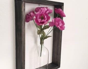 Large Wood Rectangle Shelf, Rectangle Shelf, Square Modern Wall Shelf, Hand Stained Square Shelf, 3D Shelf, Home Decor