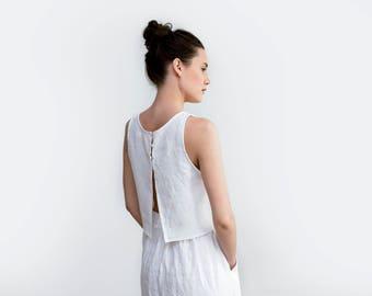 Linen wedding dress | Etsy