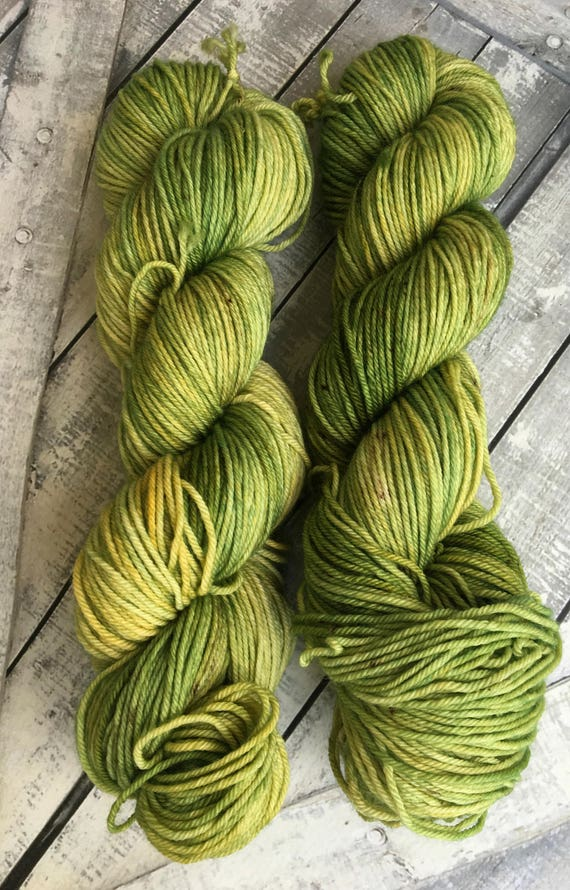 Mister Yoop - a giant from Oz - Yarn,Dickon Base,Hand Dyed Yarn,DK Weight,4 ply,Superwash Nylon,100 grams,indie dyed yarn,Toad Hollow Yarns