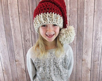 Baby Santa Hat, Newborn Santa Hat, Santa Hat, Child Santa Hat, Toddler Santa Hat, Adult Santa Hat