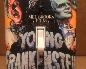 Young Frankenstein Light Switch Cover - Handmade - Classic Horror - Gene Wilder