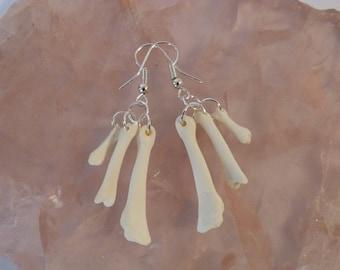 Goose Bone Earrings