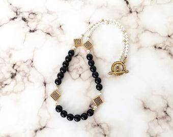 Celtic Knot Black Onyx Necklace