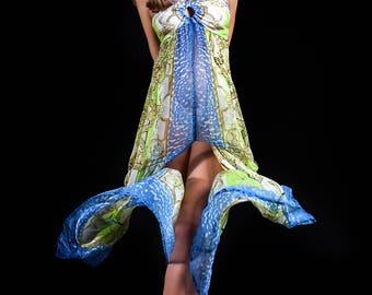 Eldorado long dress by Silvian Imberg