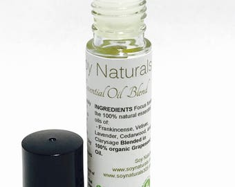 Migraine Headache Essential Oil Roll on Blend, headache relief 10ml