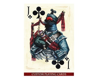 VICTORIANS Custom Playing Cards