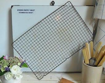 Vintage wire cooling rack, baking rack or trivet