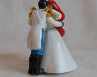 Vintage Disney The Little Mermaid Ariel and Eric Dancing Wind up Toy