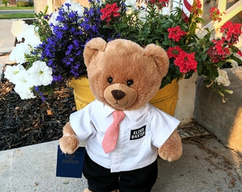 Missionary Bear, Build a Bear Missionary outfit, LDS Missionary Bear, Elder Bear outift