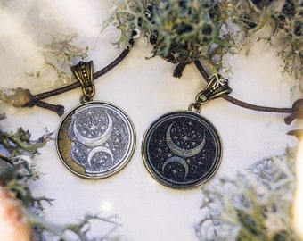 Moon Child necklace | two versions