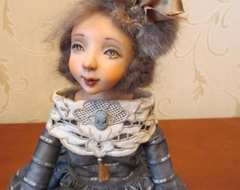 "OOAK art doll ""Graceful Lucille"""