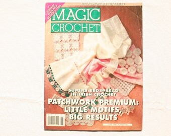 Magic Crochet Magazine - Number 102 - June 1996 - Vintage