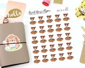 Package Planner Stickers - Funny Planner Stickers -  Package Planner Stickers - Character Stickers - Fits Most Planners - 021