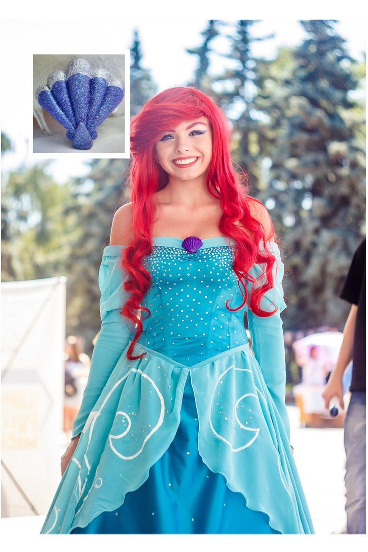 Ariel disney cosplay costume adult disney princesses little - Costume princesse disney adulte ...