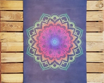 HYBRID Yoga Mat Mandala