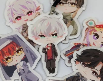 "Mystic Messenger: LOLOL ver. 2.5""inch Acrylic charm (Double-sided)"