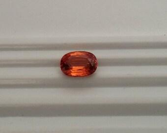 Natural Spessartite or Mandarin Garnet faceted loose gemstone ST0056SP