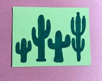 Cactus Drawing / Cutout