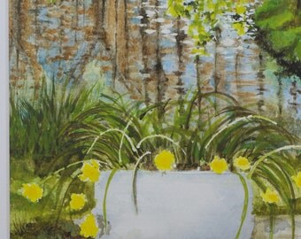 Painting Spring Waters - Watercolour