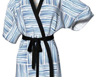 Nemo X Shibori Inspired Kimono