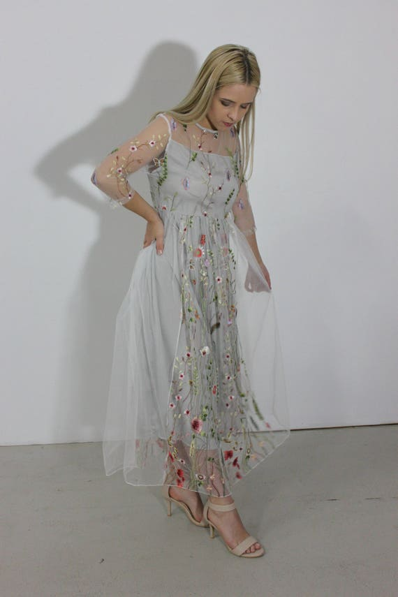 Embroidered Dresses for Women