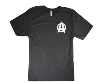 Star Trek....T-Shirt Left Chest Unisex Triblend T-Shirt