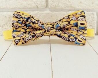 Bow tie Mignons yellow