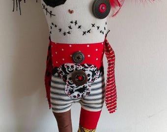 Plunder, the peg leg pirate