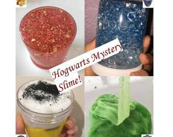Hogwarts Mystery Slime - Harry potter Slime - scented slime - fishbowl slime - scented cloud slime -  scented jelly slime - glitter slime