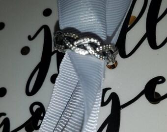 Pandora Braided Infinity Ring