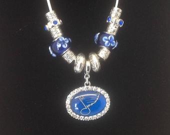 St Louis Blues Necklace