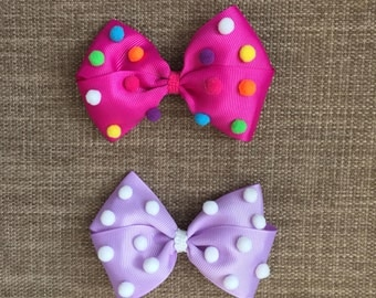 Baby Girl / Toddler Bows Clips