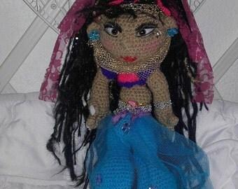 Doll style Jasmine 40 cm hook.