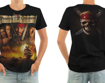 Pirates of the Caribbean T-shirt All sizes