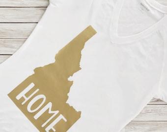 Home State Tee, Custom State Tee, State Pride Tee, State Shirt