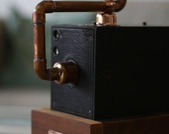 Pre 1920 No. 3 Brownie Vintage Camera box lamp
