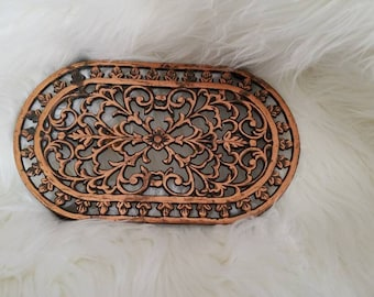 Iron and Copper Trivet