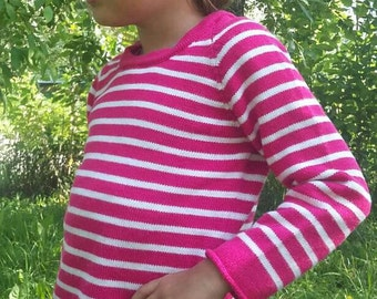 Sweater design for baby, knitted sweater, children's sweater, sweater