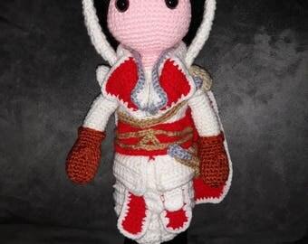 ezio assassin's creed crocheted