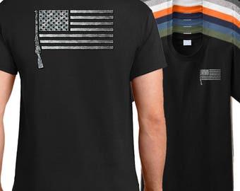USA Mosin Nagant M9130 flag shirt, military firearm shirt, rifle shirt, American firearm shirt, m9130 tshirt, mosin nagant tshirt