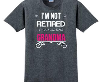 Grandma T-Shirt, Grandma Tee, Cute Grandma Shirt, Nana T-Shirt, Granny T-Shirt, Grandma Shirt, Funny Grandma T-Shirt, Grandma Present