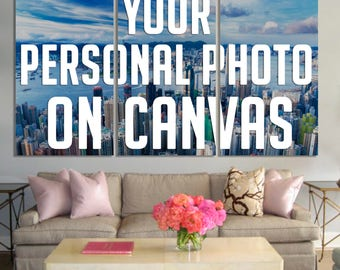 3 panel custom photo on canvas, Your photo on canvas print, Request custom order, Wall art, Canvas print, Home decor ideas, Wall decor ideas