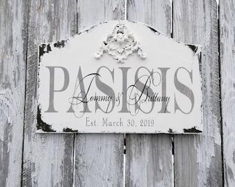 Established Family Sign | CUSTOM NAME SIGN | Personalized Sign | Vintage Sign | Family Last Name Sign | Custom Wooden Sign | Last Name Sign