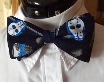Hockey Clip-on Bow Tie